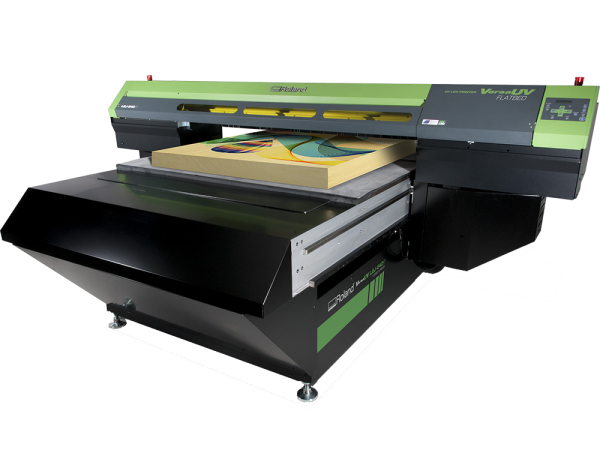 Photo of VersaUV® LEJ-640FT Flatbed UV Printer