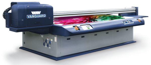 Photo of VR5D Series - 4x8 Flatbed UV Printer with Ricoh Gen 5 Printheads