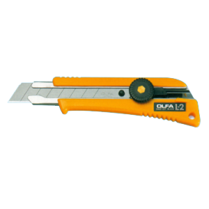 Picture of Olfa L-2 Rubber Grip Insert Utility Knife
