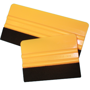 Picture of Plastic Squeegee with Felt Edge